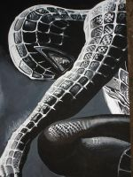 spiderman poster painting by sophiyaster
