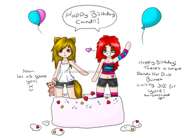 Happy (Early By 1 Day)  Birthday Candii! by Tsukeo