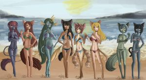 Project EVO Beach Beauties by raptor007
