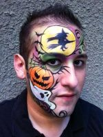 Halloween Face by RonnieMena