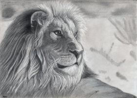 Lion by Bajan-Art