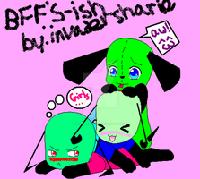 BFF's,ish-art trade by invadersharie