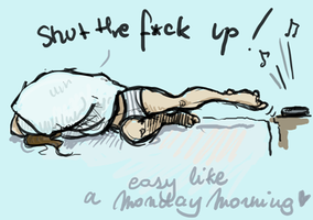 easy like a monday morning by Ca-roline