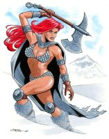 Red Sonja by 93Cobra