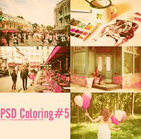 PSD Coloring#5 by SickyJinny