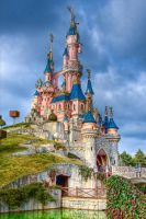 Sleeping Beauty Castle by azerinn
