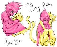 My Tiny Pest by CNat