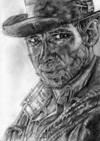 Harrison Ford, Indiana Jones by LittleDragonZ