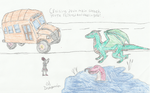 Al, Shruikan, and Miss Frizzle by ZeonBelial