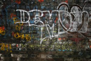 Graffiti Wall 1 by stock-photo