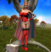 Red Hot Riding Hood by Chup-at-Cabra