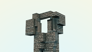 Brutalistic Building by saifirenet