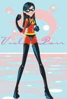 Violet Parr - Incredibles by keebyo