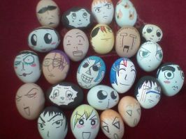 My Easter eggs by Erenii
