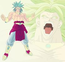 Broly wallpaper by tokaf