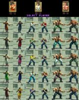 USFIV Final Fight pack Vol 2 by monkeygigabuster