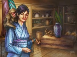 Merchant Shop by JWilsonIllustration