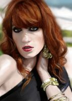 Florence Welch by Bandea