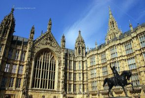 Houses of Parliament by Asligg