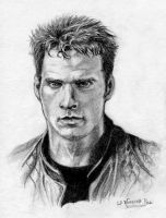 John Crichton Portrait by Catluckey