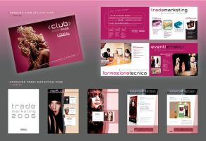 L'Oreal brochures by Glosoli82
