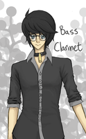 .:Instrument-Tans: Bass Clarinet by teiteika