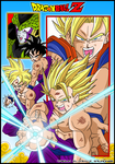 Dragonball Z - Saga Cell by TriiGuN