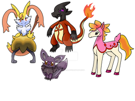 Adoption Pokemon Fusion by DraconianQueen