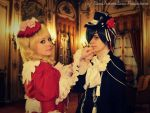 Lizzy and Ciel - Ballroom Dance by NaruForeverSasu