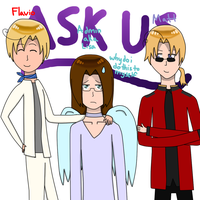 Enter 2p! Romano, Admin, and 2p! Canada by ask-the-hetalia-gang