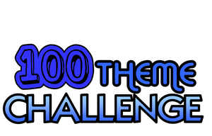 100 Theme Challenge Blue by Link2262