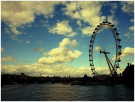 London eye by Malleni