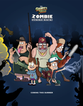 Gravity Falls: Zombie Strike Back by markmak