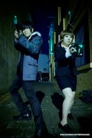 Psycho-Pass: Enforcer Inspector by twinklee