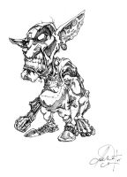 Goblin...thing. by Jack0Trades