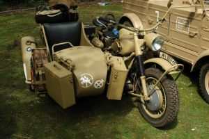 BMW R75 Sidecar WW2 by BlokkStox
