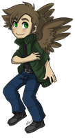 Loki with Wings xD by Loki-Wings