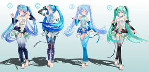 Pose Pack 3 (Append Special) by MaiCroft