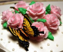 Wilton Rose Cake - 4 by BPHaines