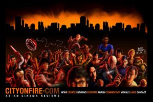 City on Fire Frontpage 2007 by Danomight