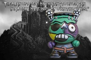Frankenstein's  Monster Dunny by zombiemonkie