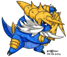 Samurott by trinityweiss