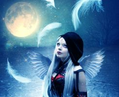 Gothic Angel 2 by PlacidAnemia