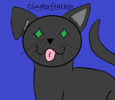 Cinderfeather by JellyKitteh