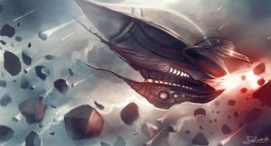 Airship by Frostwindz