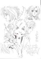 Toboe from Wolfs Rain by stregonibenefici17