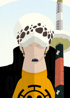 Trafalgar Law by MinimallyOnePiece