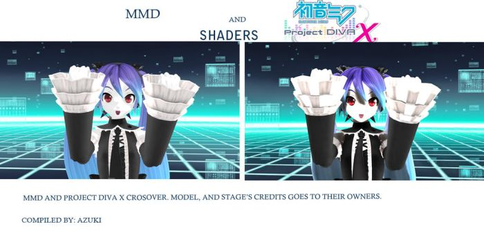 MMD x PDAFT Shaders by TErrarIanXD
