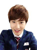 Suho selca png by KpopGurl