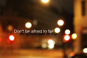 Dont be afraid by Monicasand